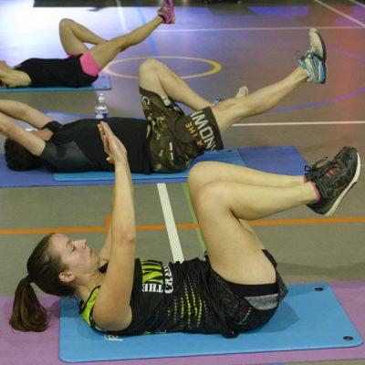 Abs workout class