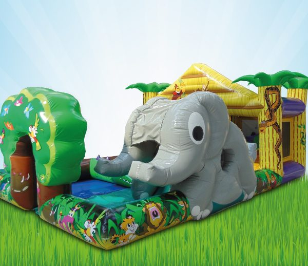 Inflatable Jungle Birthday Party