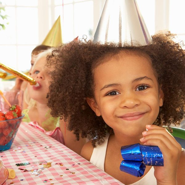 Children's Party in the Pavilion at Field Place Manor House and Barns