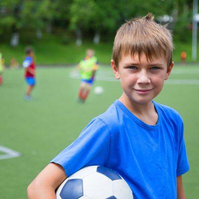 Junior walk up football
