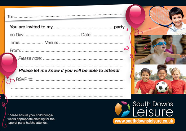 Junior Party Invitation