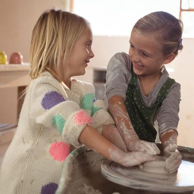 Pottery parties at Field Place Manor House and Barns
