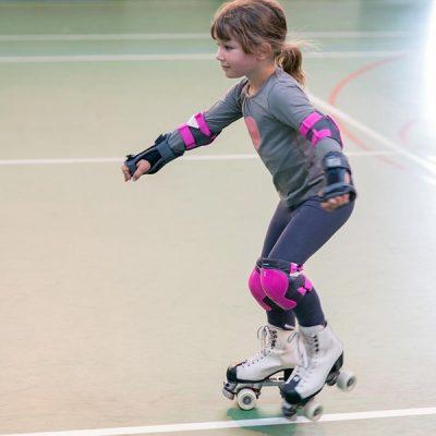 Roller skating party at Davison Leisure Centre