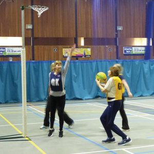 Walking Netball Worthing Leisure Centre