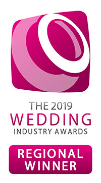 2019 Wedding industry awards regional winner