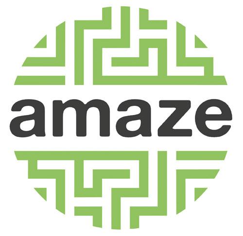 Amaze Compass Card logo