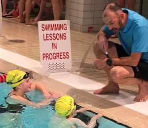 Junior Coaching Swimming Lessons