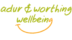 Adur and Worthing Wellbeing Logo
