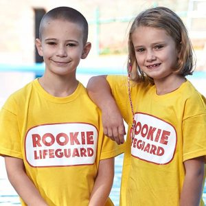 Rookies lifeguarding at Splashpoint Leisure Centre