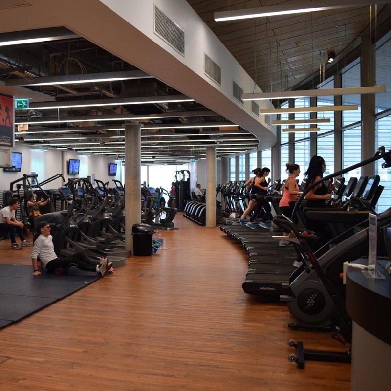 Gym at Splashpoint Leisure Centre