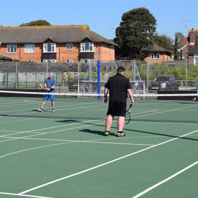 Tennis Courts Davison leisure centre