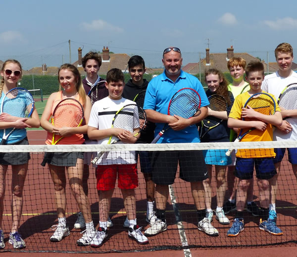 FREE Tennis Lesson with Colin Piper