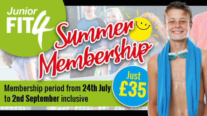 Junior FIT4 Summer Offer