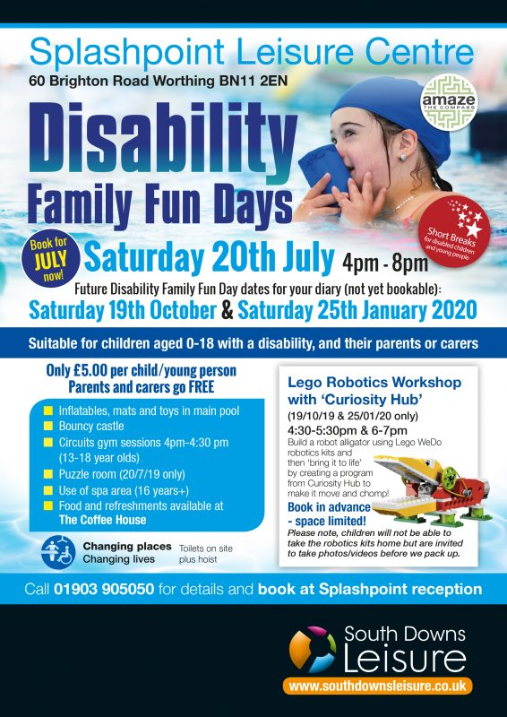 Disability Fun Day Poster