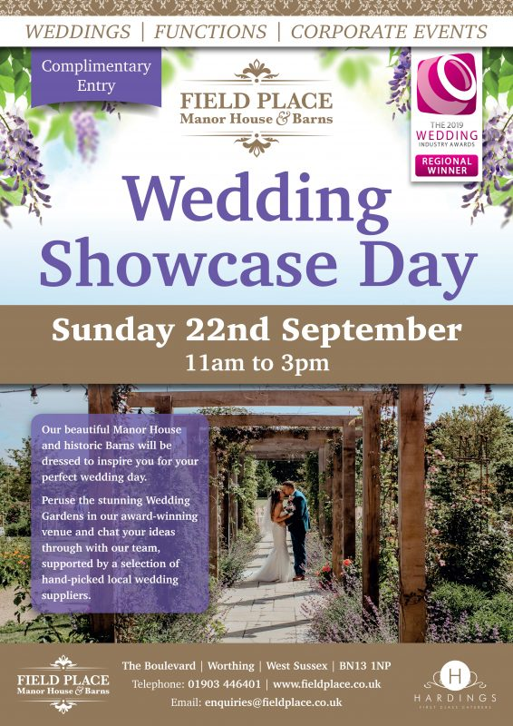 Wedding Showcase Day Poster