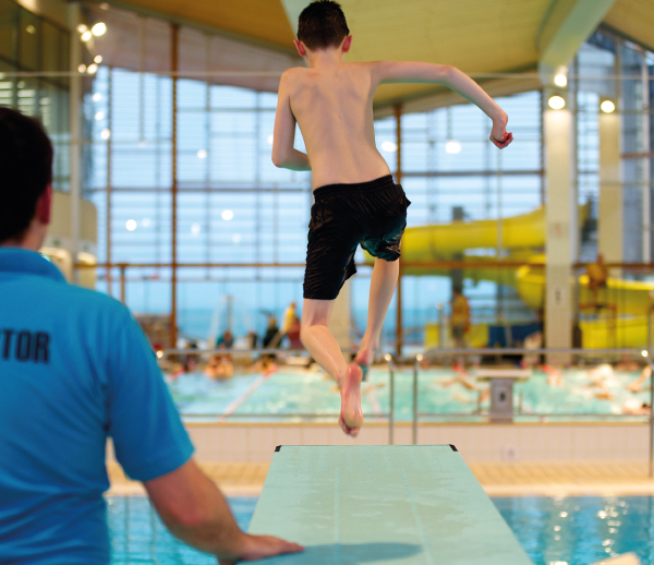 Flip 'N' Fun at Splashpoint Leisure Centre
