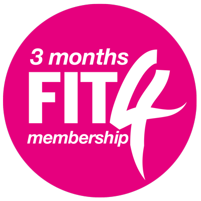 3 Months FIT4 Membership
