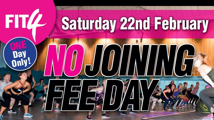 No Joining Fee Day