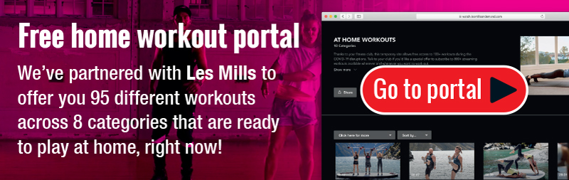 Try an Online workout today