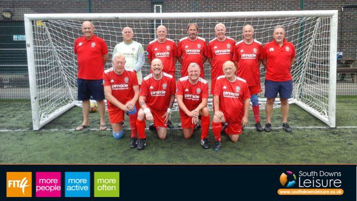 Walking Football to return at Worthing Leisure Centre