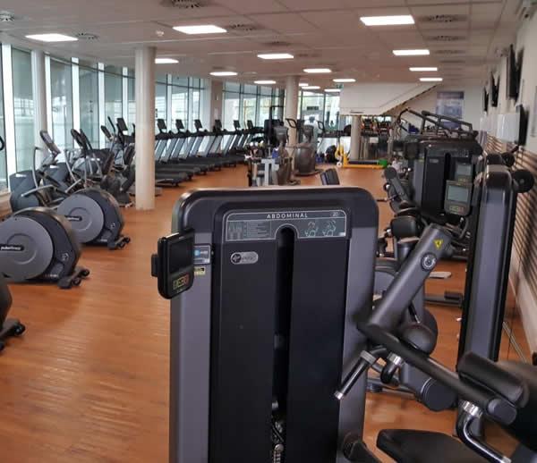 Splashpoint Leisure Centre gym