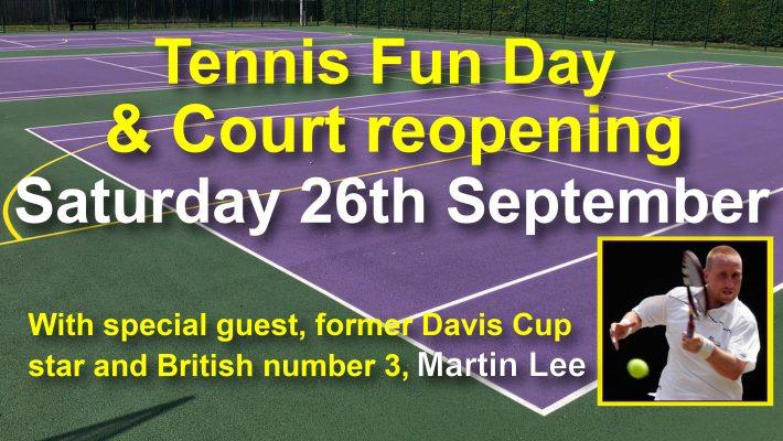 Tennis Fun Day