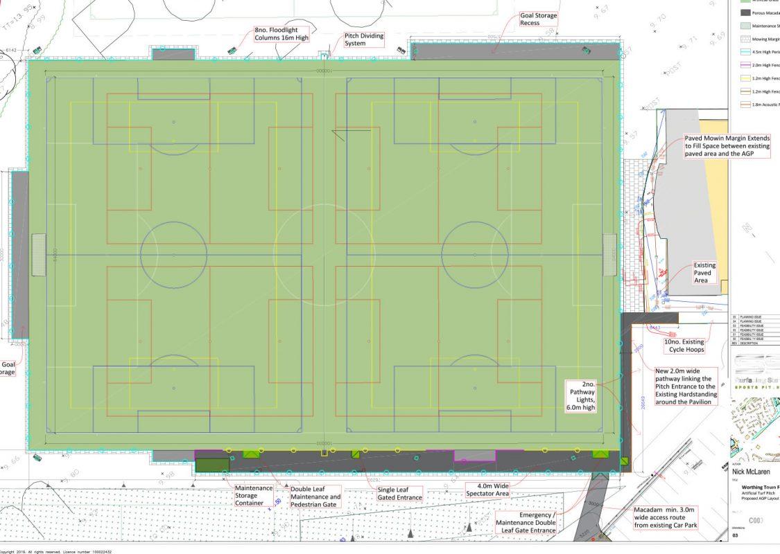 Palatine Park Football Centre plans 2021
